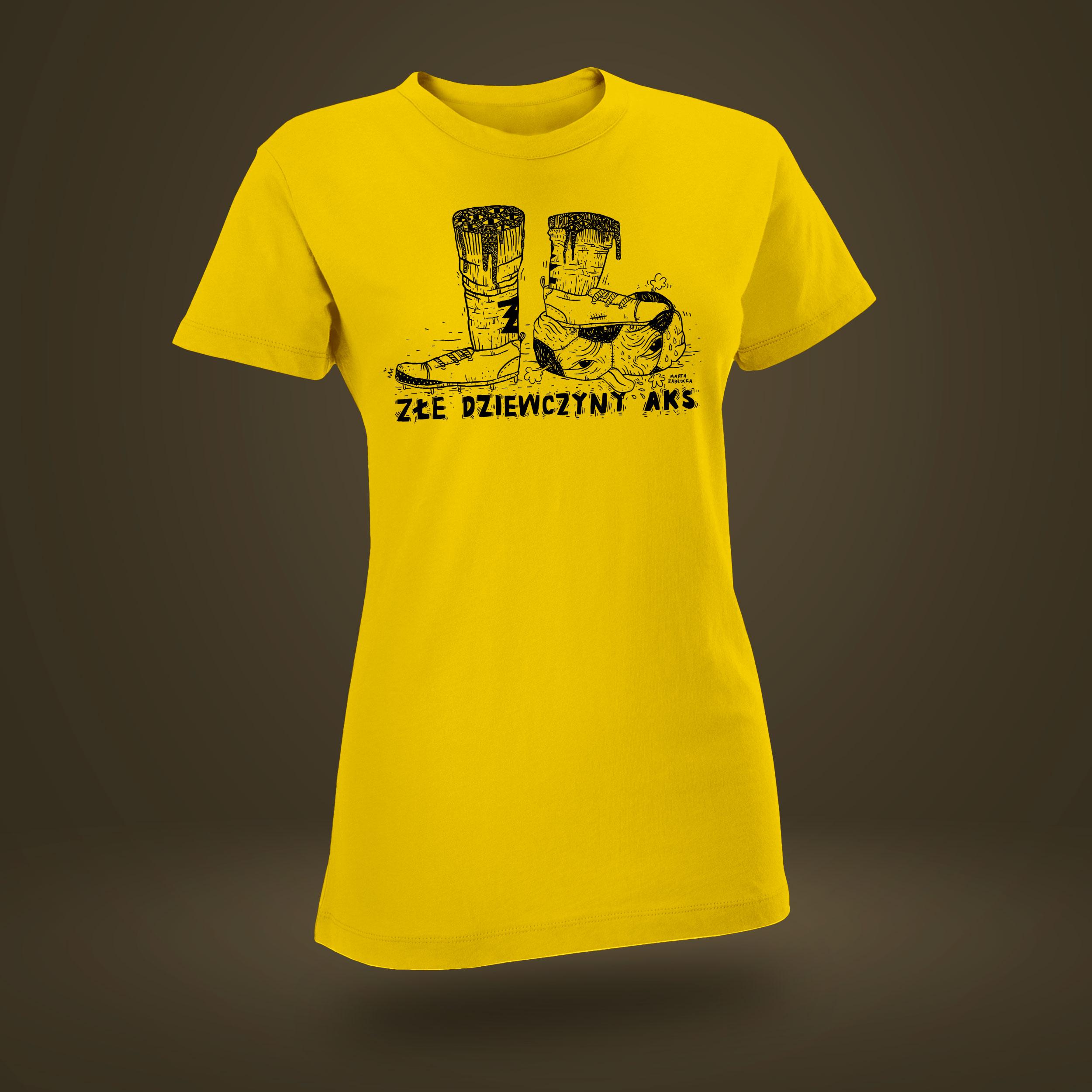 AKS ZŁY - t-shirt