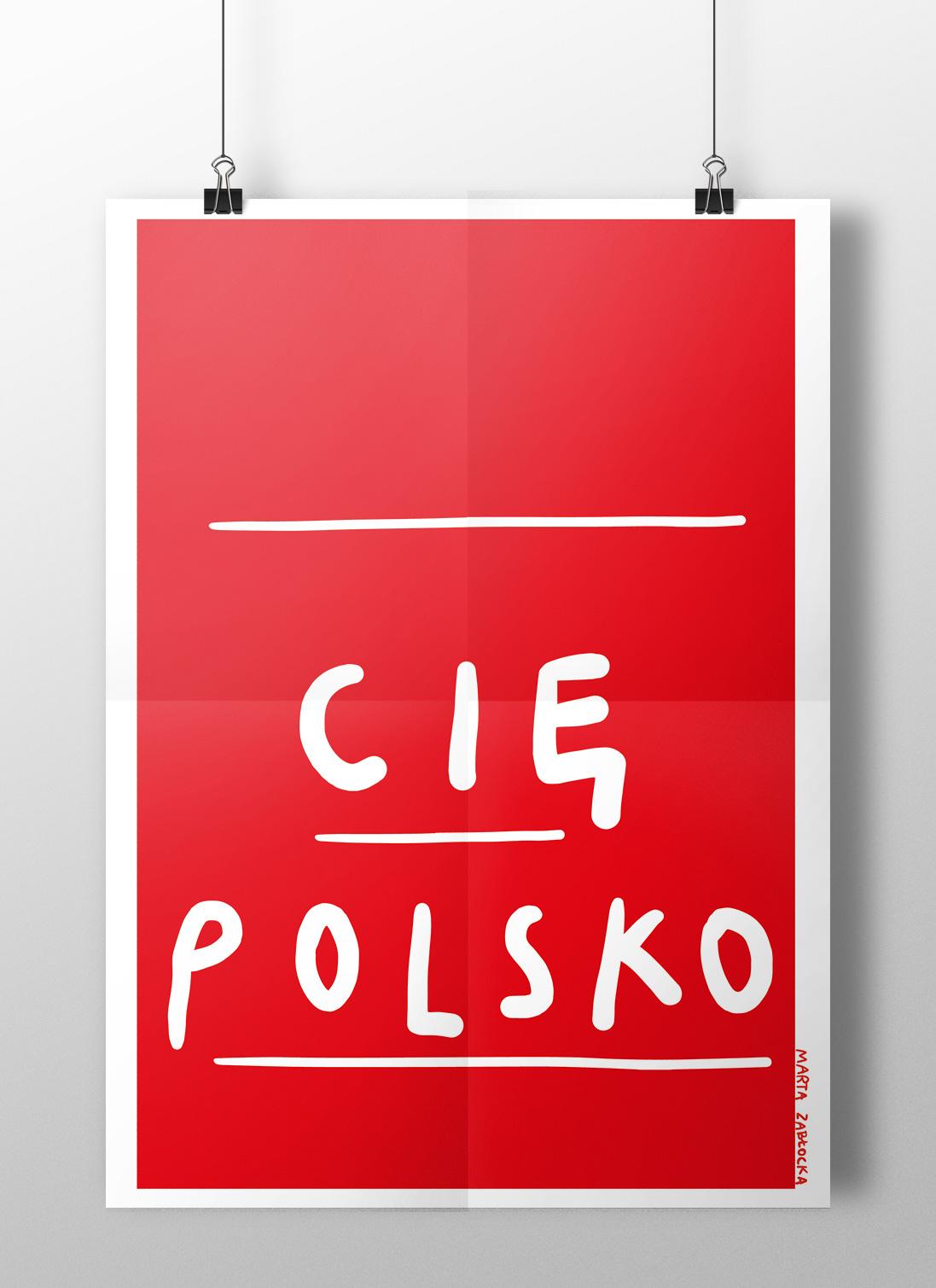 Polska - plakat