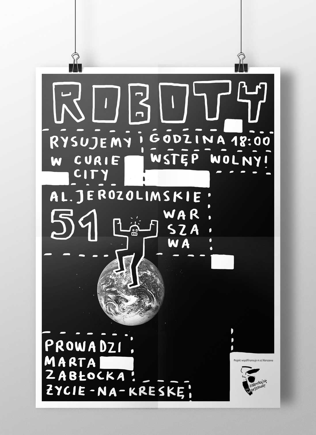 Curie City - Roboty