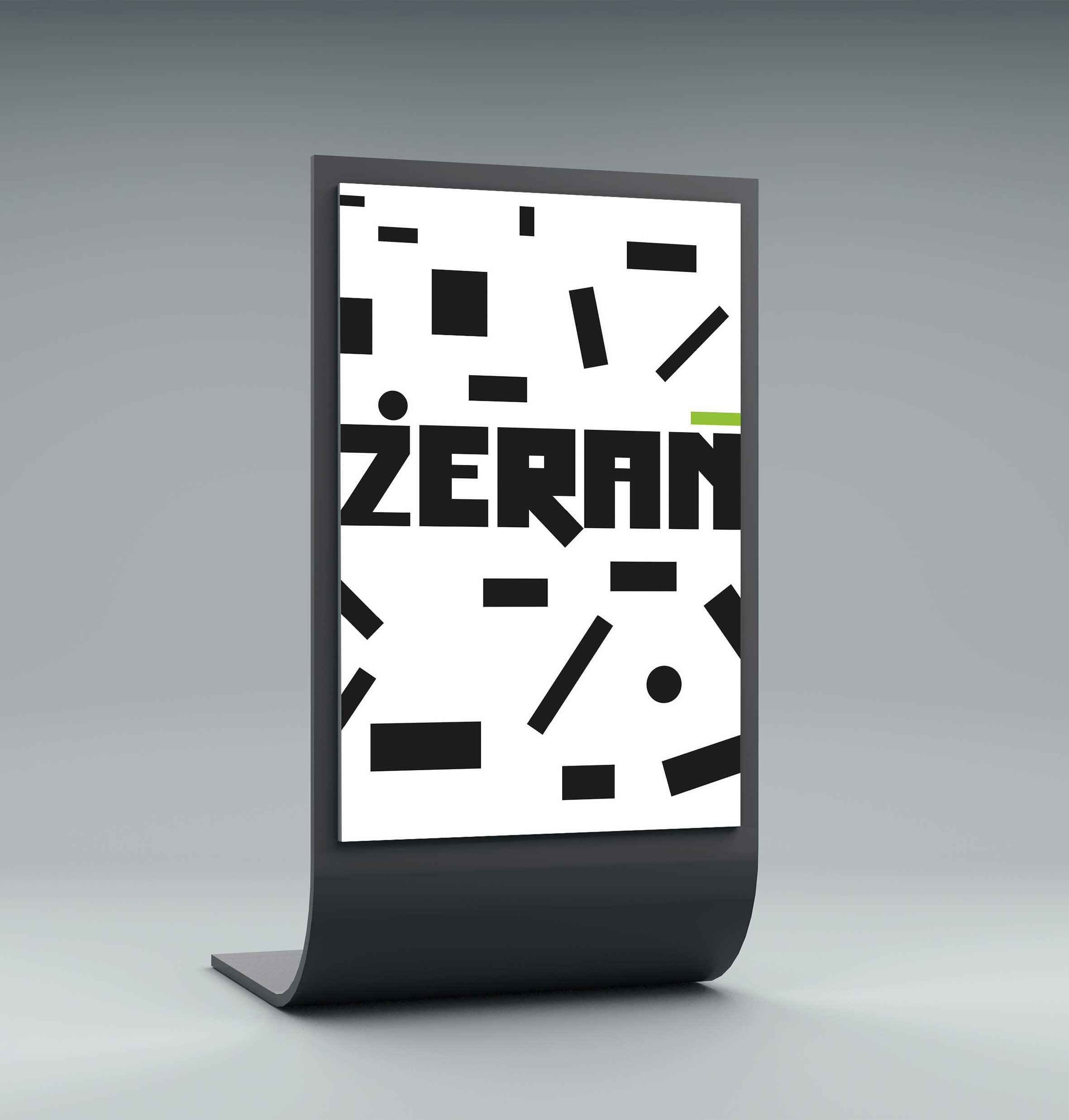 Żerań - identyfikacja wizualna stand