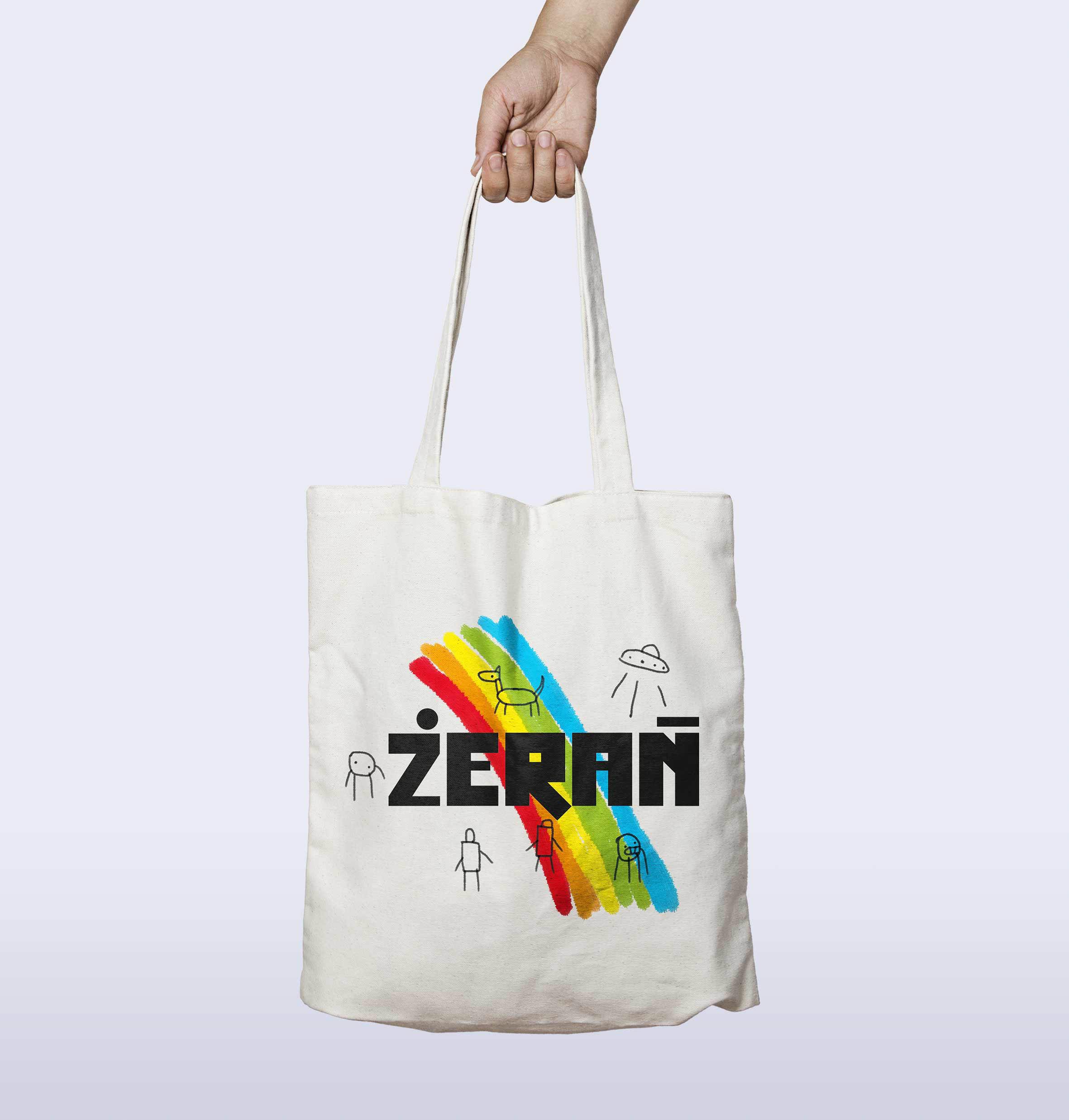 Żerań - identyfikacja wizualna torba