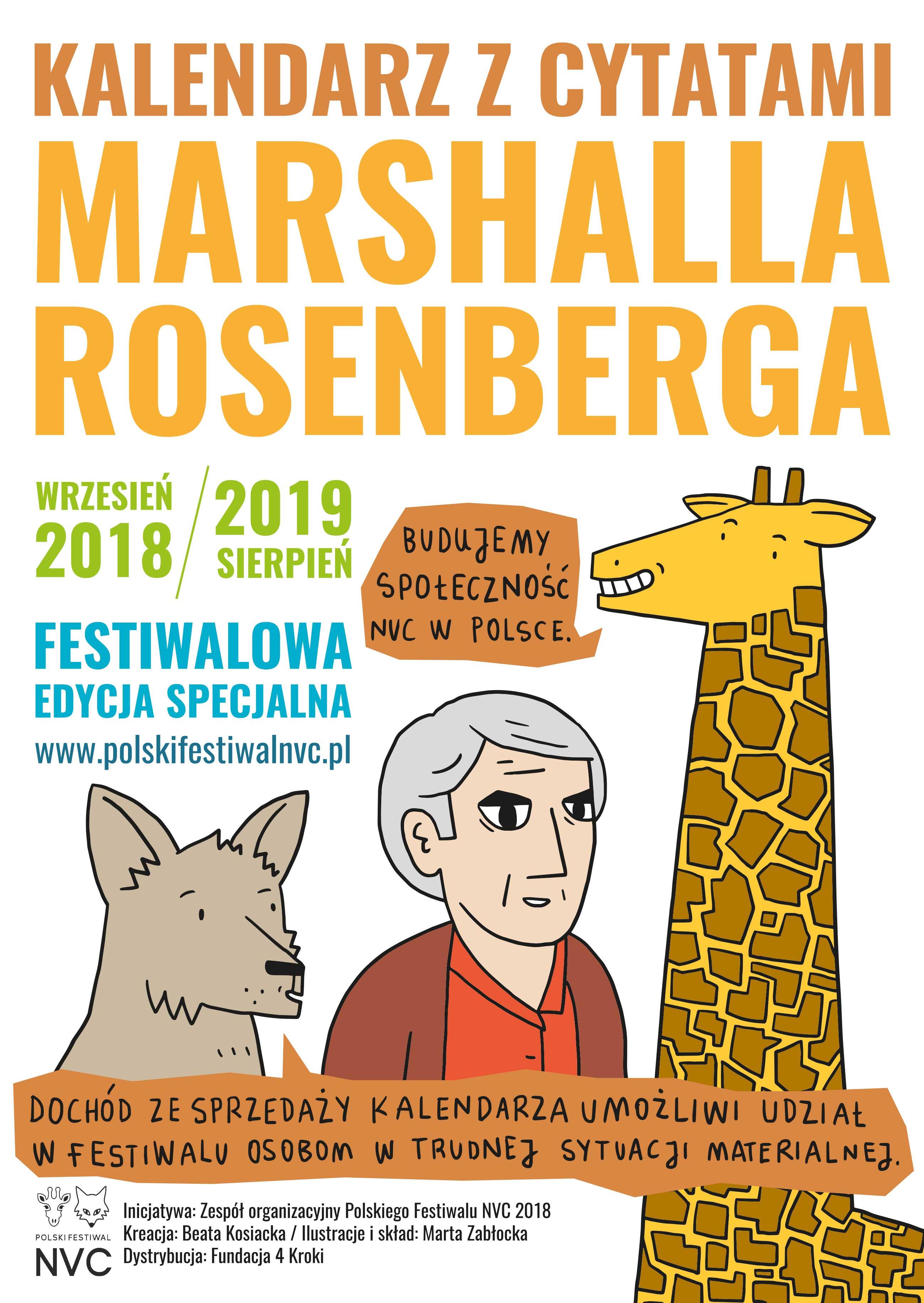 Marshall Rosenberg - okładka