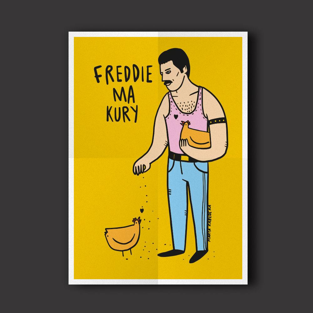 Freddie ma Kury