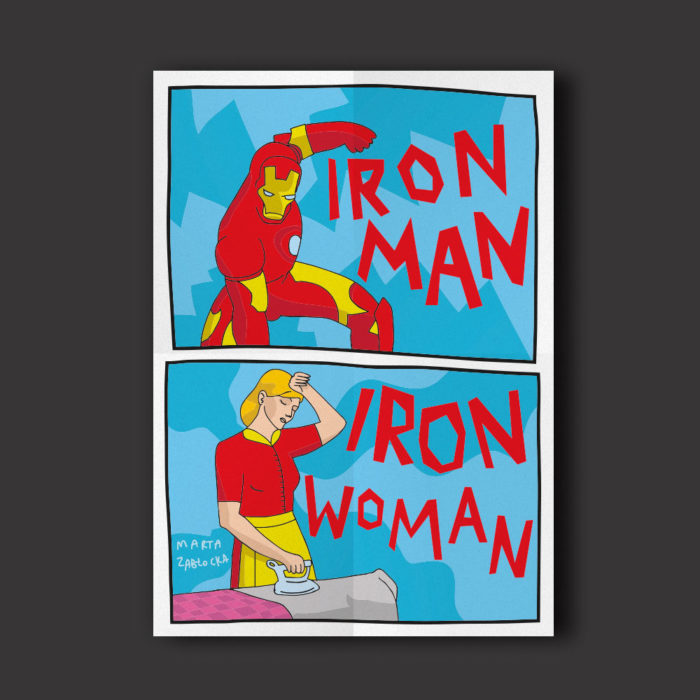 Iron man - Iron woman