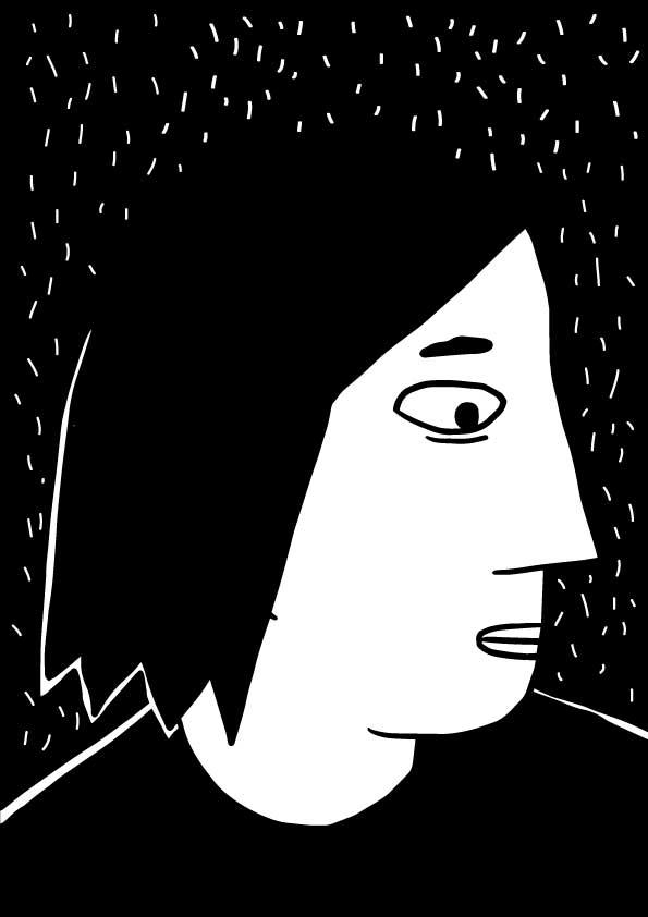 Marta Zabłocka życie-na-kreskę autoportret