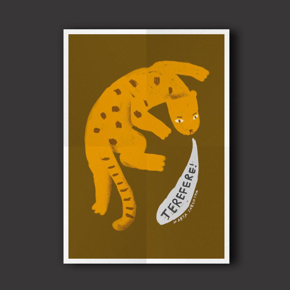 Tereferująca Pantera