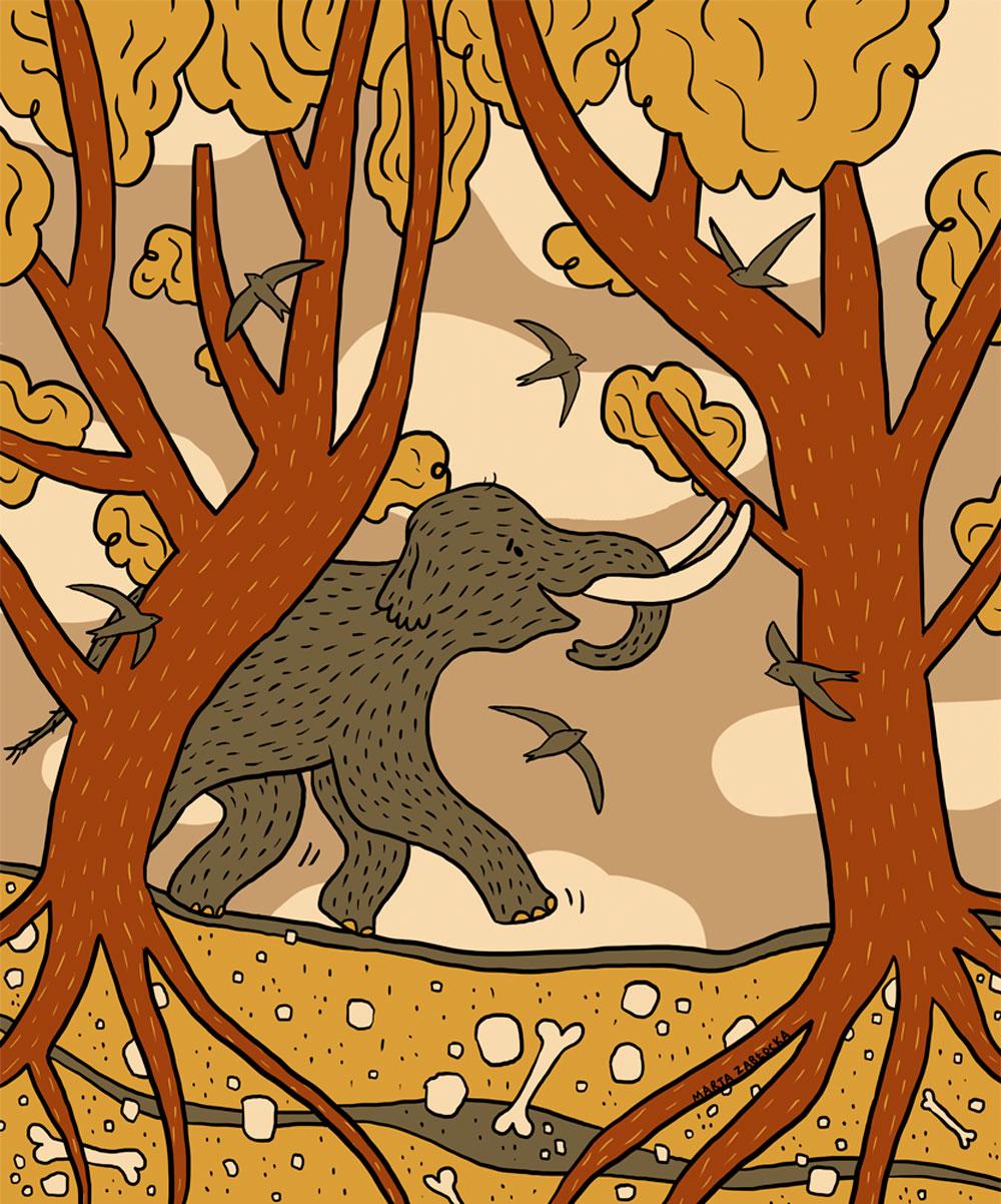 Mamuty na murale
